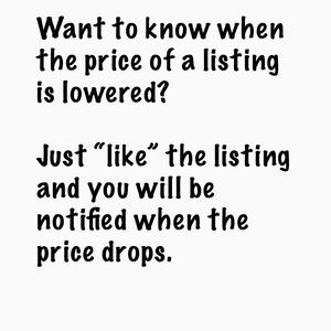 Get Notified When Price Drops!
